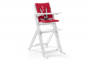 trona ADVANCE blanco - rojo